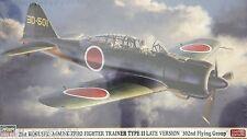 Hasegawa 07372: 1/48 A6M2-K Type 11 Zero Trainer Late Version (Limited Ed Kit)