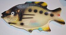 vintage FISH SHAPE Platter / Tray 1960s HOOVER