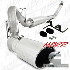 MBRP Turbo Back Stainless Exhaust For '94-97 Dodge Cummins 5.9L* WITH HANGER KIT