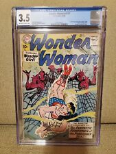 CGC 3.5 Wonder Woman #117, 1st Silver Age appearance of Etta Candy/Holiday Girls