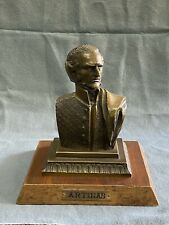 ANTIQUE BRONZE GENERAL JOSE GERVASIO ARTIGAS BUST ARGENTINA, URUGUAYN 19THC.
