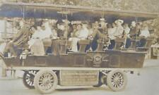 "VICTORIAN 1900 SIGHT SEEING AUTO TOUR BUS ""999"" WHEEL WINGS PHOTO WASHINGTON DC"