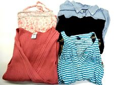 Old Navy Women's Large Mixed Styles & Colors Blouses & Button Up Lot of 5