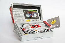 Slot.It Audi R8 LMP Le Mans 2000 #8 Limited Edition SICW19 Autorennbahn 1:32 NEU