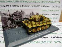 PZ23 Tank militaire 1/72 PANZER n°23 Pz Kpfw VI tiger I SdKfz 181 URSS 1943