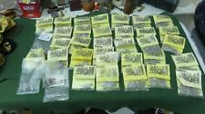35 Bags Of White Metal 'Minifigs' Miniature Figurines Limited