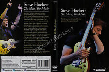 Steve Hackett The Man The Music. New DVD