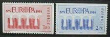 SWEDEN 1984 Europa Bridge. Set of 2. Mint Never Hinged. SG1183/1184.
