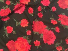 Vintage Marienbad Never Misbehaves Cotton Quilt Fabric triangular scrap 40x28x28