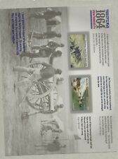 2014 Forever 1864 Civil War full Sheet of 12 Scott #4910-4911, Mint NH