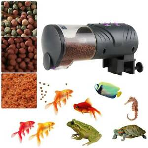 Automatic Fish Tank Auto Feeder Aquarium Holiday Feeding Tropical Marine Feed