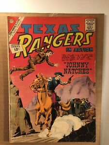 Texas Rangers #16 Charlton Silver Age Western! I combine Shipping!