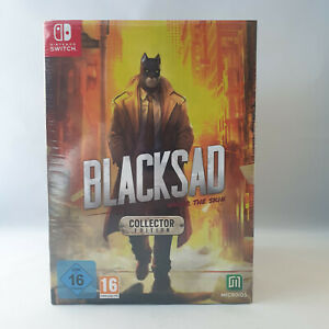 Nintendo Switch - Blacksad Under the Skin Collector Edition NEW SEALED (1)