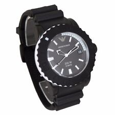 Emporio Armani Sportivo AR5965 Mens Watch 20 Bars Black