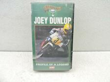 New Joey Dunlop Profile Of A Legend VHS Video Y2243B