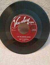 """El Dorados Vee-Jay 147 """"AT MY FRONT DOOR"""" (GREAT DOO WOP) 45"""