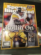 JEROME BETTIS PITTSBURGH STEELERS SIGNED SPORTS ILLUSTRATED SUPER BOWL XL JSA
