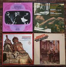 Lot Of Vintage SHOSTAKOVICH LP Records Classical Borodin Quartet No.13, 5, 11