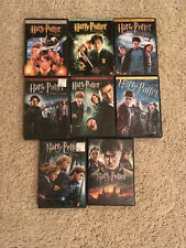 Harry Potter 1-8 Dvds Complete Set (Years 1-7)