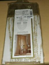 "Croscill Classics Celery Radiance Sequin Beaded Waterfall Swag,18"" W x 30"" L"