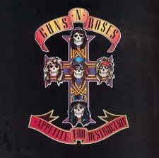 CD: Appetite for Destruction by Guns N' Roses October 1987 80's METAL