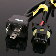 1 Pair Easy Relay Harness For H4 9003 Hi/Lo Bi-Xenon HID Bulbs Wiring Controller