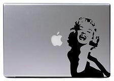 "Apple MacBook Air Pro 13"" MARYLIN MONROE Retro Aufkleber Sticker Skin Decal 060"