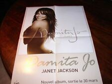 JANET JACKSON DAMINA JO!!!!RARE FRENCH PRESS/KIT/POSTER