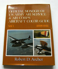 Aeronautica Aircraft The official monogram US army air service & air corps Vol 1
