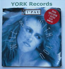 """T'PAU - I Will Be With You *GATEFOLD SLEEVE* - Ex Con 7"""" Single Siren SRNG 87"""