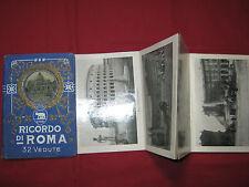 Dépliant sous cartonnage - RICORDO DI ROMA - 32 Vedute - 32 Photos - Partie II
