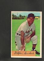 5415* 1954 Bowman # 103 Steve Souchock Ex-Mt