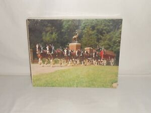 NOS Vintage 1978 The Great American Puzzle Factory Clydesdale Jigsaw Puzzle 550+