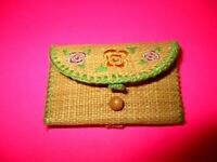 American Girl Kit Kittredge Small Earth Friendly Clutch Purse for Meet Outfit