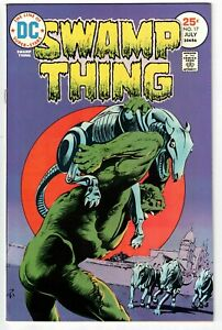 SWAMP THING #17 1975 DC BRONZE AGE HIGH-GRADE FN/VFN!