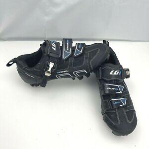 Louis Garneau HRS-80 Black Strap Cycling Shoes Multi Air Flex Womens Size 7