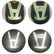 Hi Vis Safety Vest Standard Reflective Tape Day Night Work