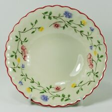 "Johnson Bros ""SUMMER CHINTZ"" Coupe Cereal Bowl - 15 cm - Made in England Stamp"