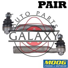 Moog New Outer Tie Rod End Pair For Toyota Sequoia 08-14 Tundra 07-14