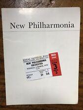 More details for philharmonia concert programme & ticket 1970 - dame janet baker sings mahler