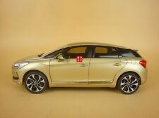 1:18 CITROEN DS5 gold color diecast model + gift