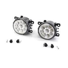 2X 9 LED Front Bumper Fog Light Lamp DRL For Vauxhall Astra H Mk5 VXR 2004-2010