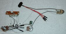 EMG Solderless EZ-INSTALL Wiring KIT 3 ACTIVE Pickups 1V 1T 5-Way White**NEW**