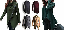 Button Wool Blend Blazer Coats & Jackets for Women