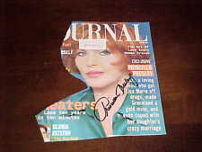Actress Priscilla Presley Autographed Signed Magazine Cover