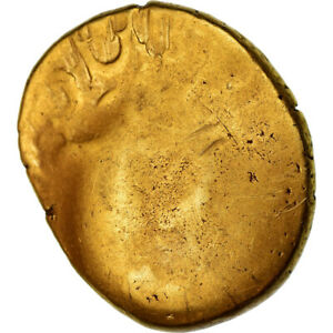 [#489748] Coin, Ambiani, Stater, AU(55-58), Gold, Delestrée:236-8