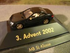 1/87 Herpa MB SL Klasse 3. Advent 2002 schwarz
