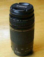 Canon EF 75-300mm USM II, excellent condition