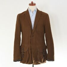 Polo Ralph Lauren Jacke Jacket Gr 40R Brushed Cotton Leder Leather HERBST Shoot