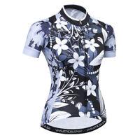Women's Cycling Jersey Clothing Bicycle Sportswear Short Sleeve Bike Shirt  F45